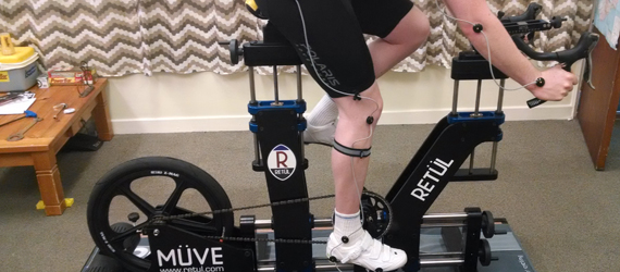 Müve Dynamic Bike Fitting Capture