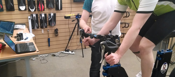 Müve Dynamic Bike Fitting Final Rider Changes